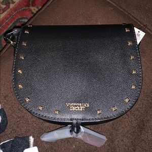 nwt!! Victoria Secret crossbody with gold studs!!!